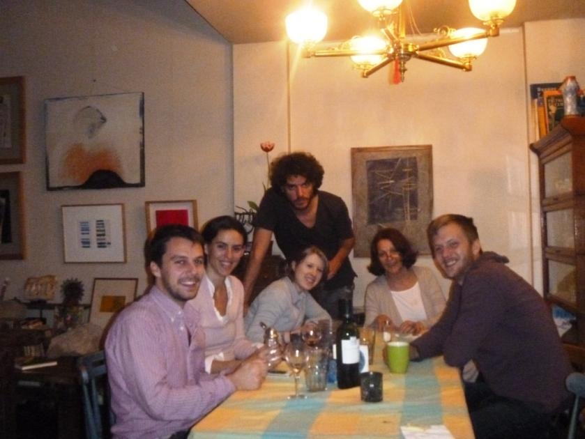 Giacomo con la familia de Elena